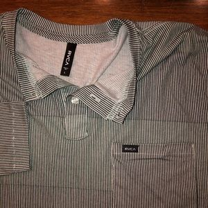 RVCA Shirts - NWT RVCA LONG sleeve slim fit shirt